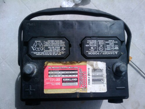 Restore sulfated batteries