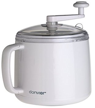 Donvier hand crank ice cream maker