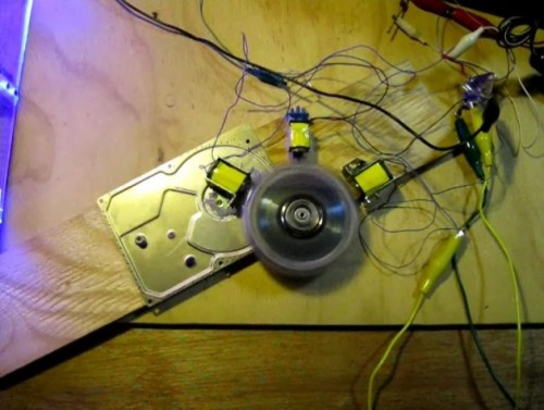 Make a free battery desulfator