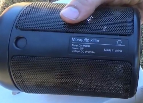 Portable Oittm USB Powered Mosquito Killer