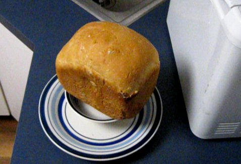 Homemade Bread Machine Bread