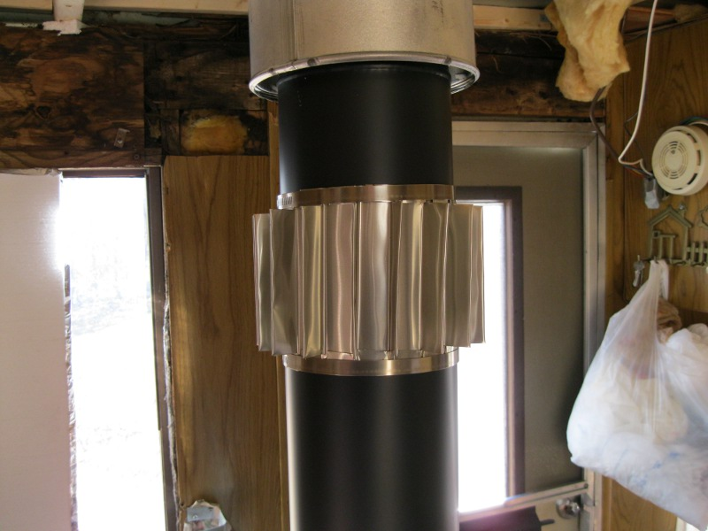 Passive Fireplace Heat Exchanger