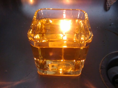 Do It Yourself Vegetable Oil Lamp