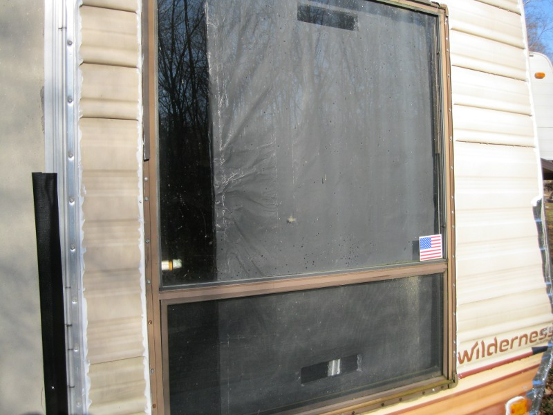 DIY passive solar window heating