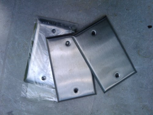 Stainless Steel Wall Cover Plates