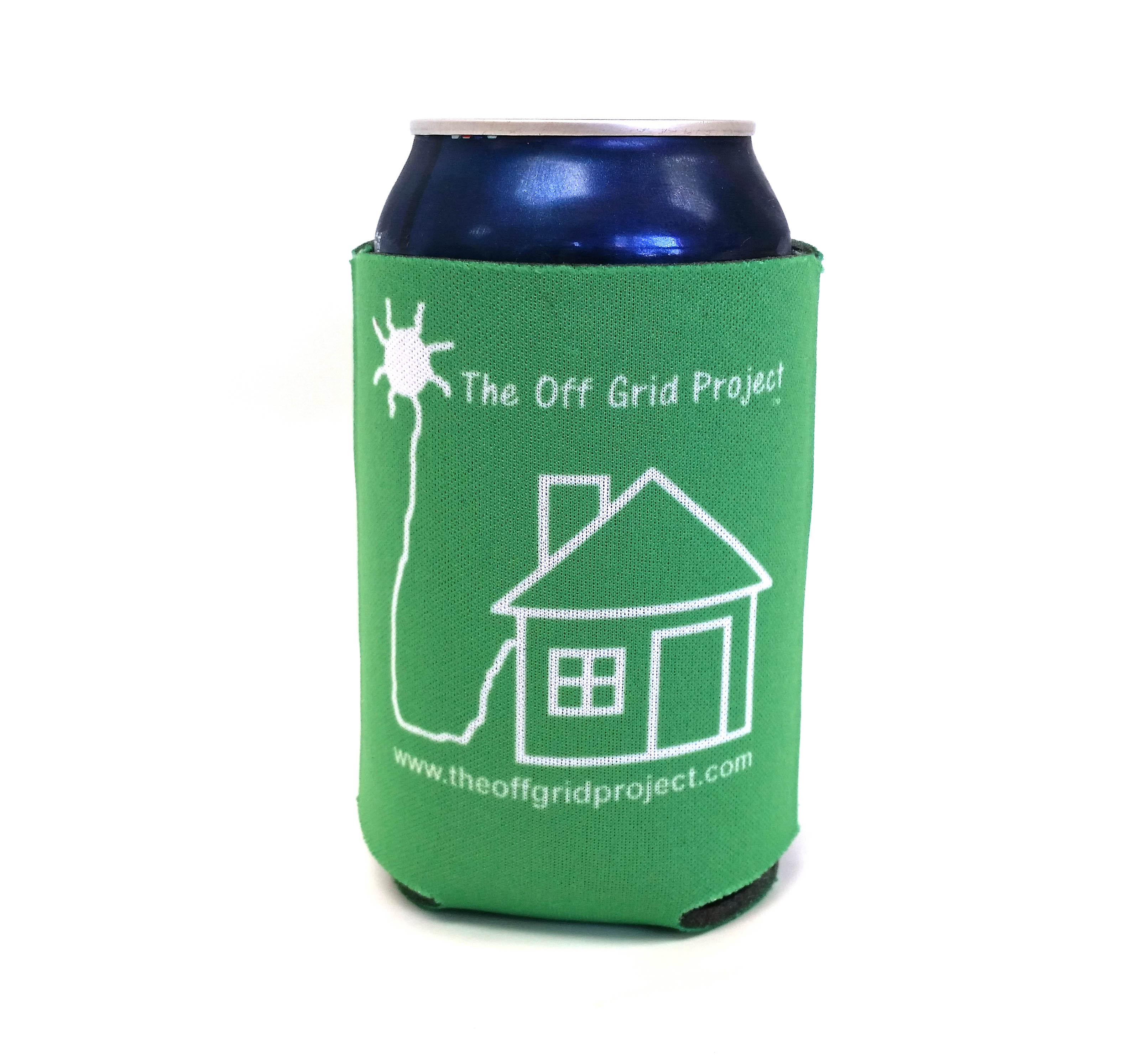 The do it yourself world merchandise off grid project cup cozy green click for larger image solutioingenieria Image collections