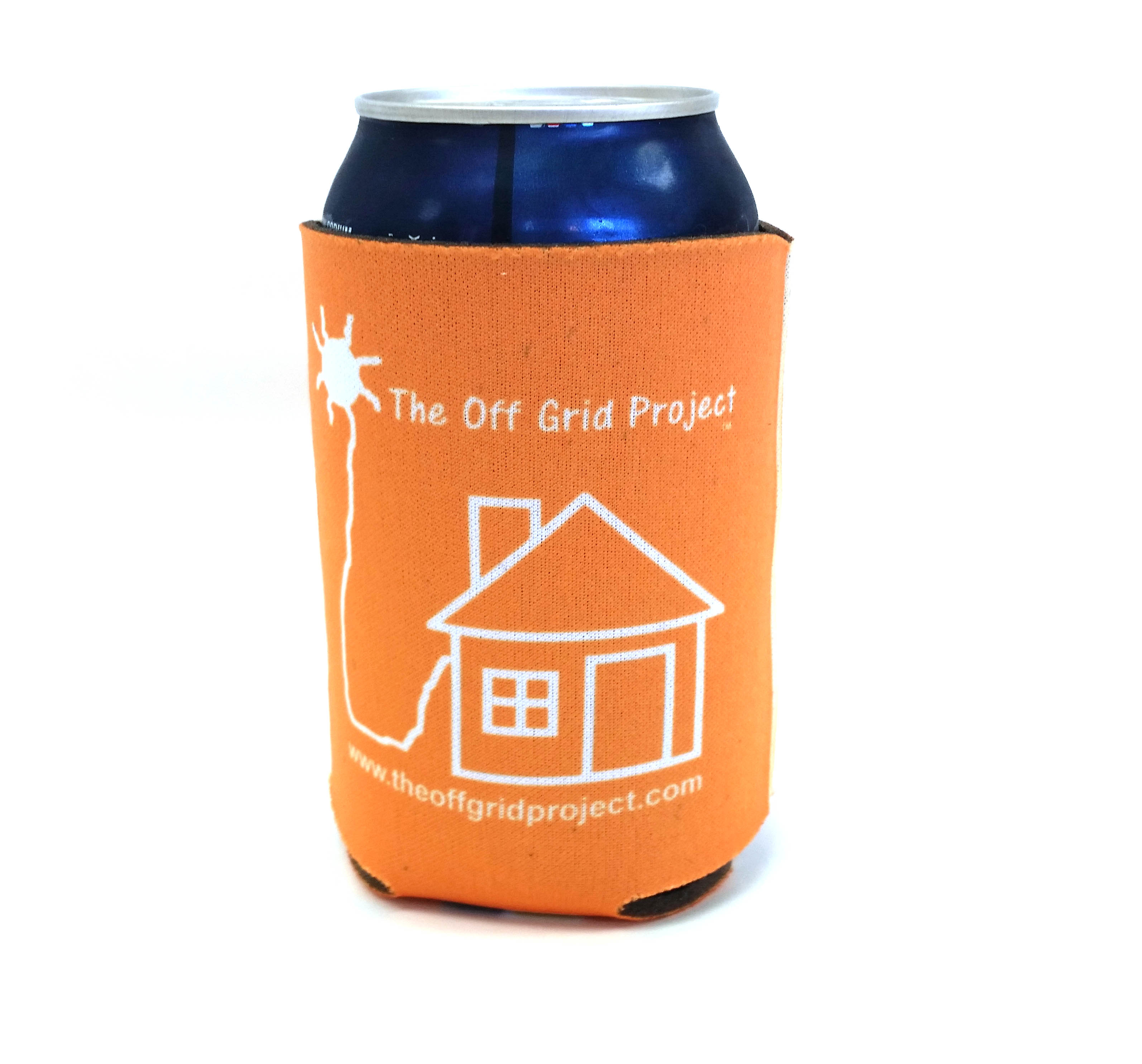 The do it yourself world merchandise off grid project cup cozy orange click for larger image solutioingenieria Image collections