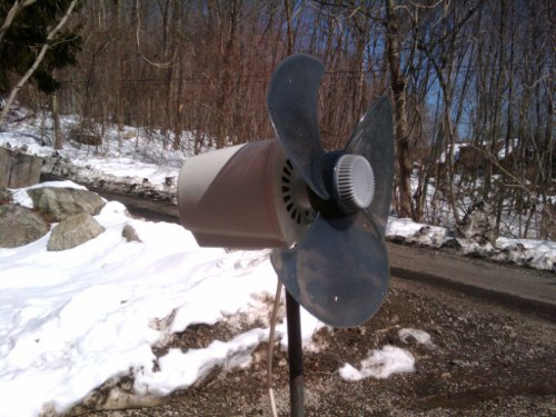 How To Covert A Table Fan Into A Wind Generator - The Do It
