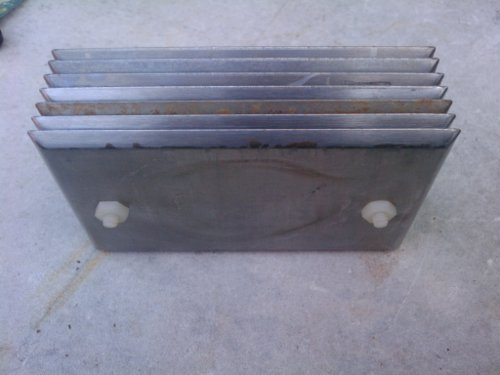 Complete water4gas plate assembly