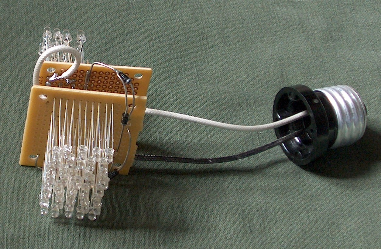 the do it yourself led light bulb forward bridge rectifier circuit view of led bulb