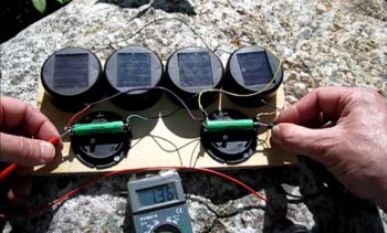 Solar Garden Light Hack - Battery Charger