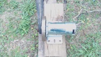 DC motor used for diy bike generator