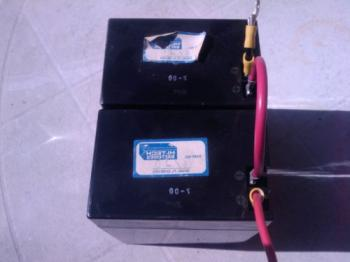 6 volt lead acid batteries restored