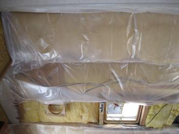 How to install better insulation in campers and rvs the for Which insulation is better